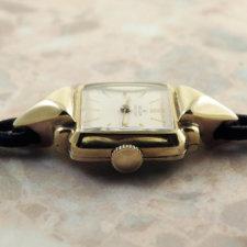 ロレックス プレシジョン アンティーク 時計 レディース 金無垢 カクテル:画像2