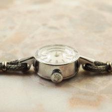 ロレックス ROLEX 14KWG アンティーク 時計 レディース:画像2
