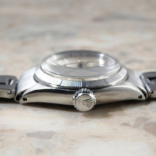 ロレックス オイスター プレシジョン エンジンターンドベゼル アンティーク時計 レディース:画像2