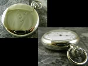 ロレックス 軍用デッキウォッチ 懐中時計 琺瑯 ミリタリーブロードアロー 希少:画像2