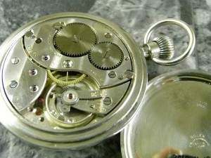ロレックス 軍用デッキウォッチ 懐中時計 琺瑯 ミリタリーブロードアロー 希少:画像3