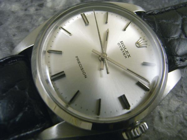ロレックス オイスター 6426 シルバーフェイス 1974年