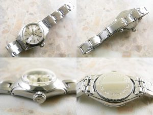 チュードル(TUDOR) オイスター 小バラ  レディースサイズ アンティーク 時計:画像2