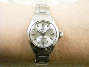 チュードル(TUDOR) オイスター 小バラ  レディースサイズ アンティーク 時計:画像3