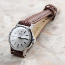 アンティーク チュードル レディース 腕時計 シルバーダイヤル アルファハンド:画像1