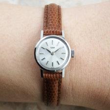 アンティーク チュードル レディース 腕時計 シルバーダイヤル アルファハンド:画像6