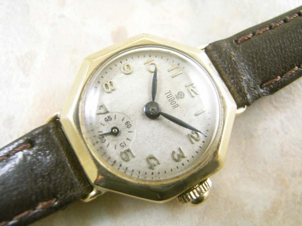 save off 5eba5 96696 チュードル・TUDOR アンティーク ゴールド 女性用 腕時計 9金 ...
