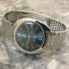 ユニバーサル UNIVERSAL ホワイト シャドウ アンティーク 時計 メンズ ブレス付:画像1