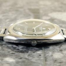 ユニバーサル UNIVERSAL ホワイト シャドウ アンティーク 時計 メンズ ブレス付:画像2