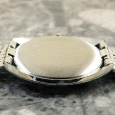 ユニバーサル UNIVERSAL ホワイト シャドウ アンティーク 時計 メンズ ブレス付:画像3