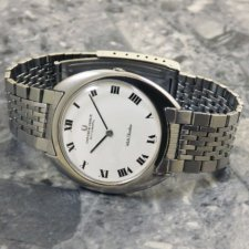 UNIVERSAL(ユニバーサル)ホワイト シャドウ アンティーク 時計 メンズ:画像1