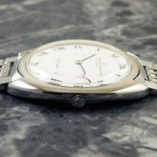 UNIVERSAL(ユニバーサル)ホワイト シャドウ アンティーク 時計 メンズ:画像2