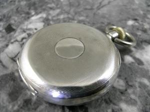 ゼニス ファーブル・ルーバ 銀無垢 瀬戸引きローマンダイアル バイメタル切りチラネジテンプ 懐中時計:画像1