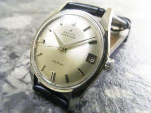 ゼニス ZENITH キャプテン アンティーク メンズ 腕時計:画像1