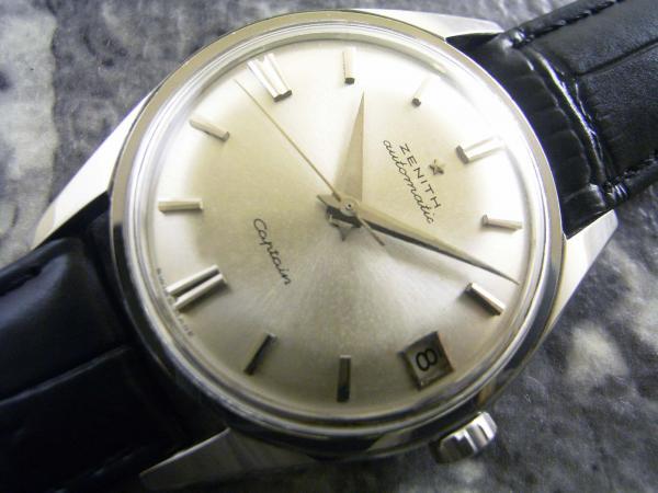 ゼニス ZENITH キャプテン アンティーク メンズ 腕時計