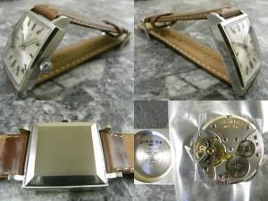 ゼニス 角形 アンティーク 手巻き ニューヴィンテージ 1965 原型タイプ 希少時計:画像2